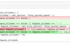 Solo 50 mb de almacenamiento en multisitio tras actualizar a WordPress 3.3