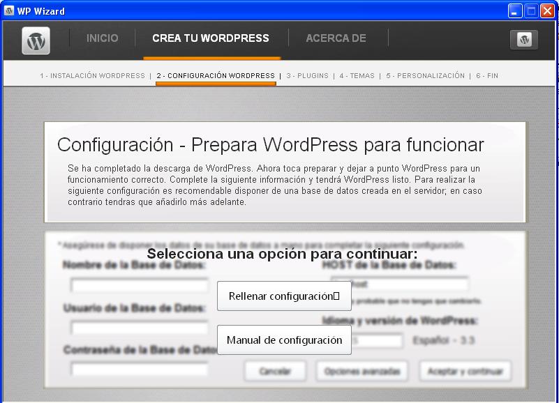 WP Wizard, un asistente para preparar tu WordPress a medida • Ayuda ...