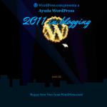 Cohetes y novedades de WordPress.com en 2012