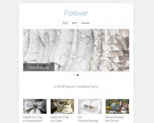 Tema Matrimonio Wordpress : Cásate con wordpress