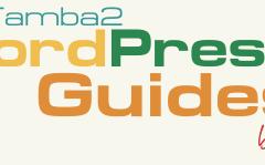 Guías Tamba2 de WordPress