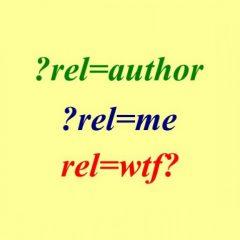 """Añadir rel=""""author"""" y rel=""""me"""" en WordPress"""
