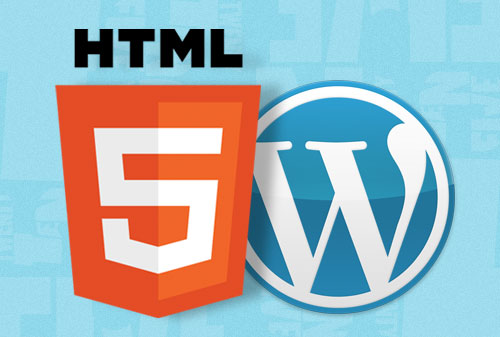 Convertir WordPress a HTML5