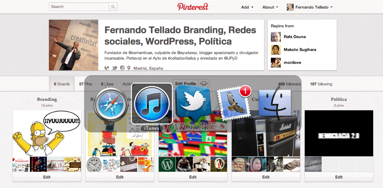 Bloquear Pinterest en WordPress