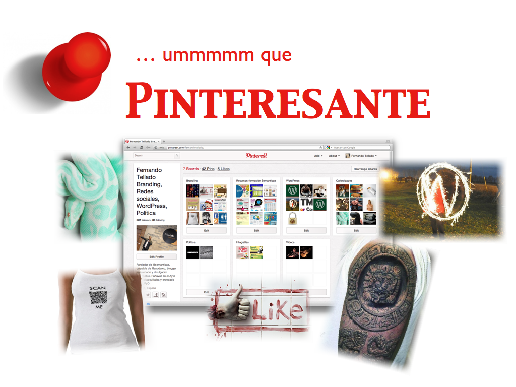 Imita Pinterest con WordPress