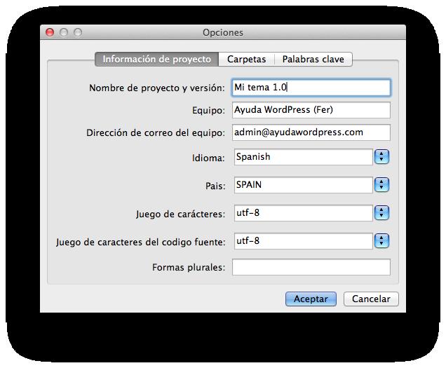 Preparar tema WordPress para traducción • Ayuda WordPress