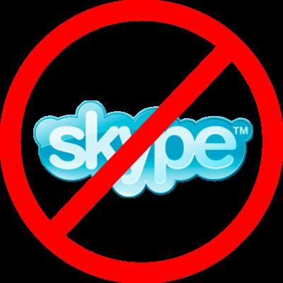 """Evitar que Skype se """"cuele"""" en tu WordPress"""
