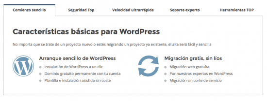 comienzo sencillo siteground wordpress