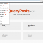 QueryPosts, como debería ser el Codex de WordPress