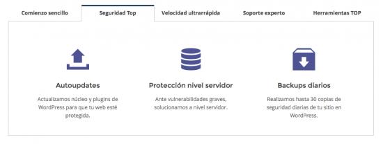 seguridad siteground wordpress