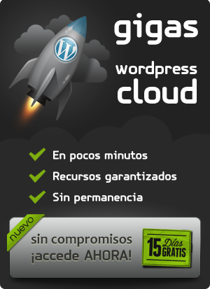 Obtén tu servidor Cloud para WordPress gratis