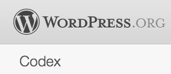 codex wordpress