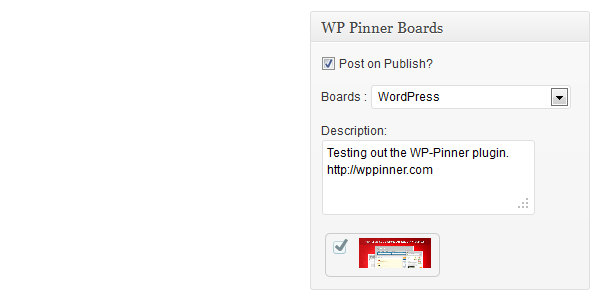 Autopublicar de WordPress a Pinterest