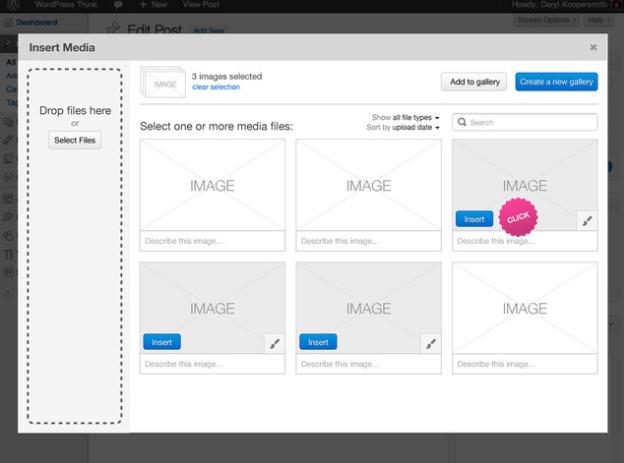 WordPress 3.5, ¡por fin varias galerías por entrada!