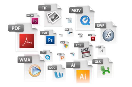 Filtrar archivos PDF en el cargador de archivos