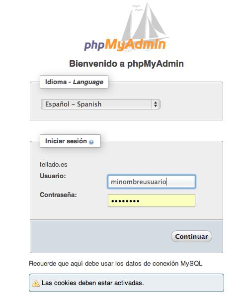 Cómo cambiar de tema WordPress desde PHPmyAdmin • Ayuda WordPress