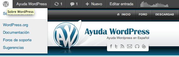 Quitar la barra de admin de WordPress, pero bien