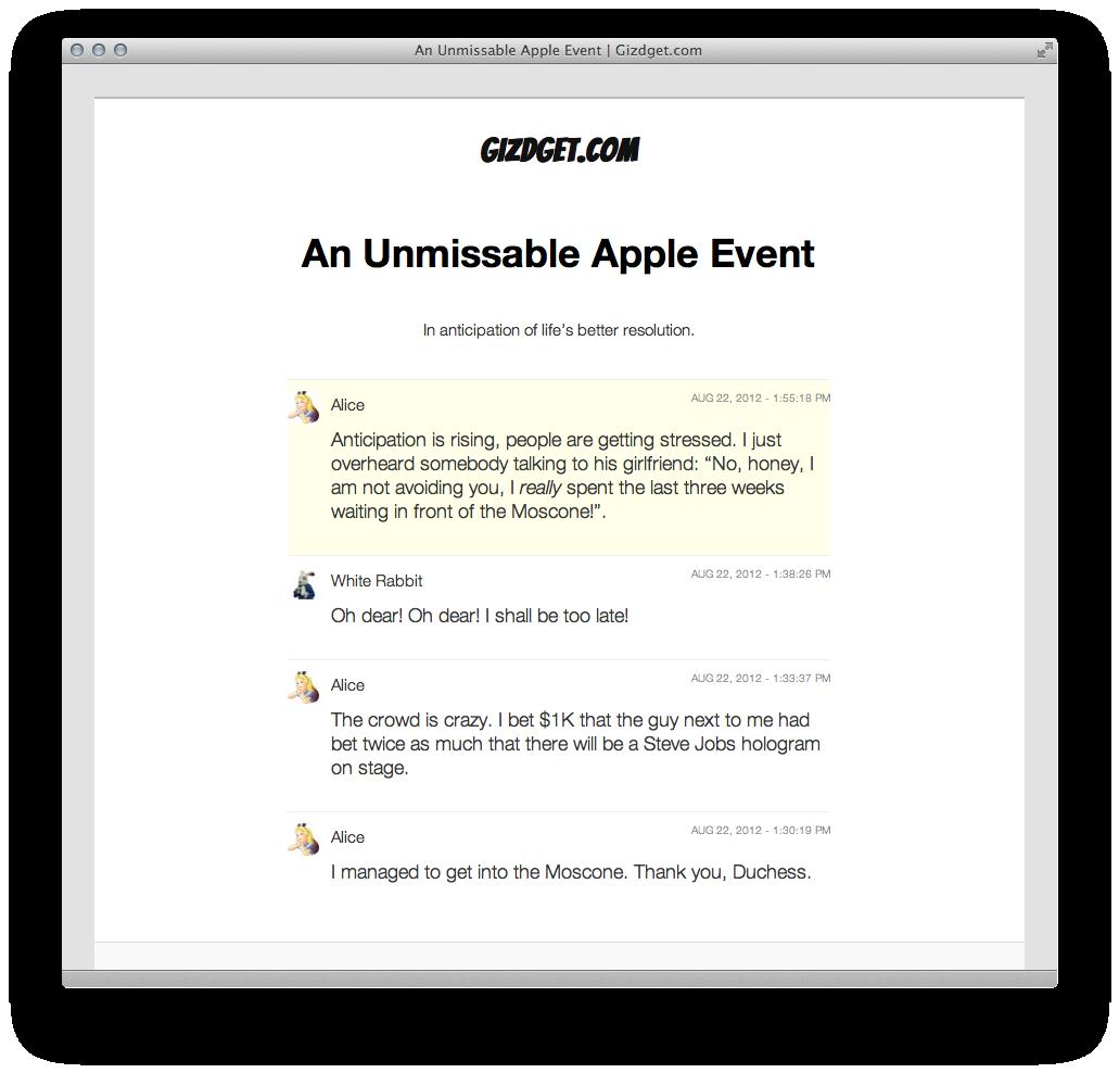 Novedades en el plugin LiveBlog para WordPress