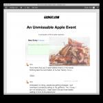 WordPress liveblog para bloguear en directo