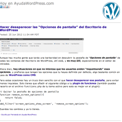 Tu propio logo en el feed RSS de WordPress