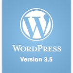 WordPress 3.5 beta 2