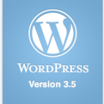 WordPress 3.5 RC5 y RC6