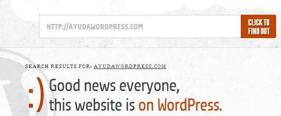Obviamente, Ayuda WordPress está creado con WordPress