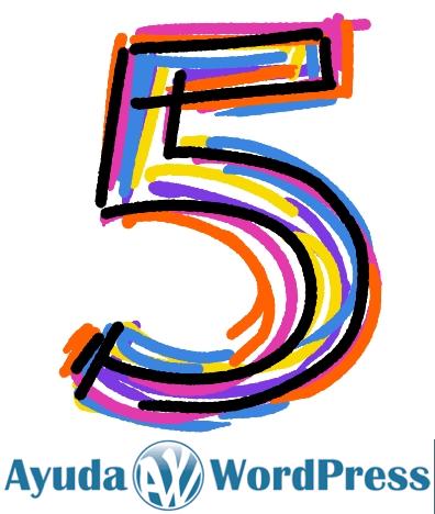 5 años de Ayuda WordPress