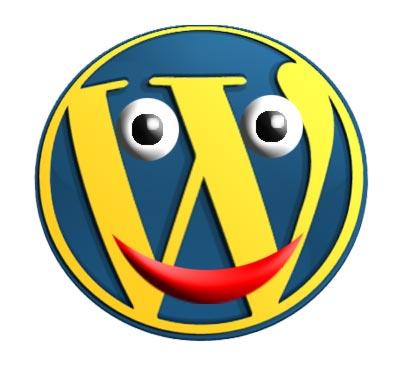 emoticono wordpress (encontrado en actualidadsocialmedia.wordpress.com)