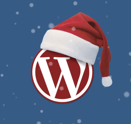 navidad wordpress