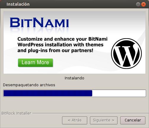 Entorno de desarrollo para WordPress
