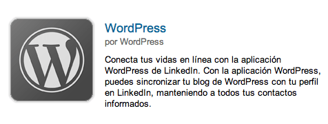 wordpress linkedin