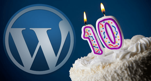 10 aniversario wordpress