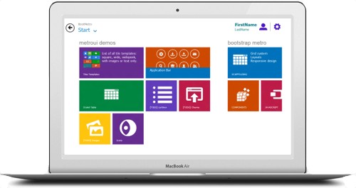 8Press, tema WordPress gratuito que imita Windows 8