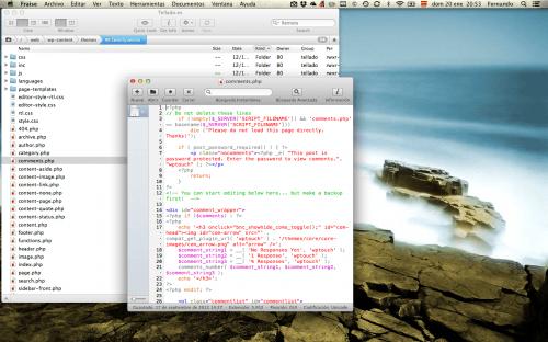 cliente ftp y editor codigo