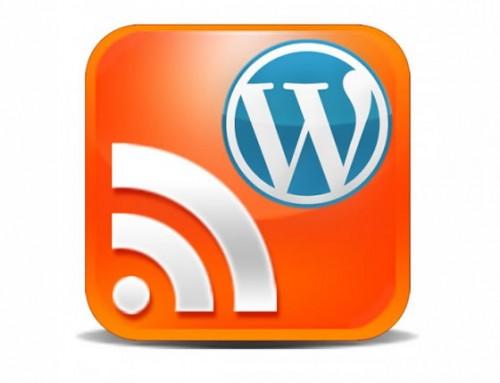 feed rss wordpress