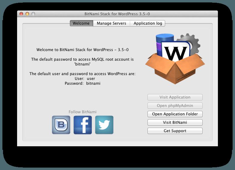 WordPress en un clic desde el Mac App Store