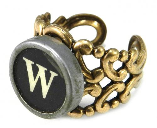 anillo tecla maquina escribir