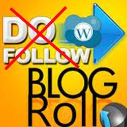 Crear un blogroll sin seguimiento («nofollow»)