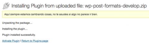 instalar plugin ui formatos entrada
