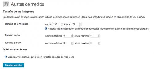 quitar tamaños de imagen wordpress
