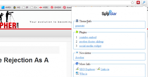 spybar wordpress