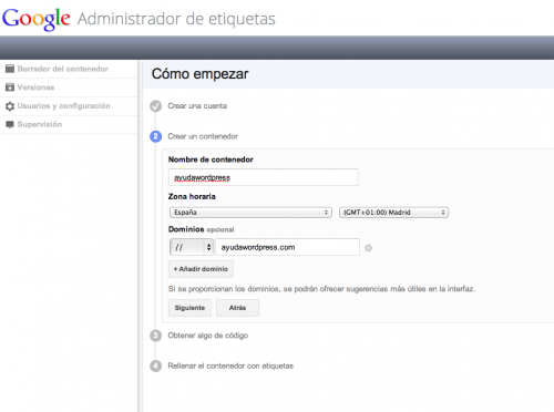 google tag manager wordpress 2