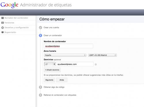 google tag manager wordpress 2
