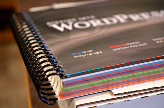 libro wordpress