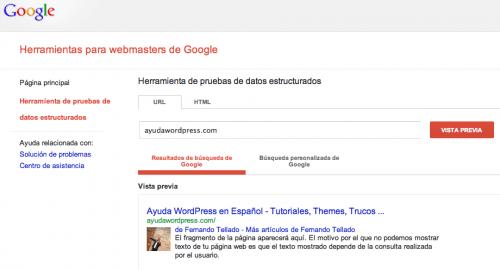 pagina autoría google plus