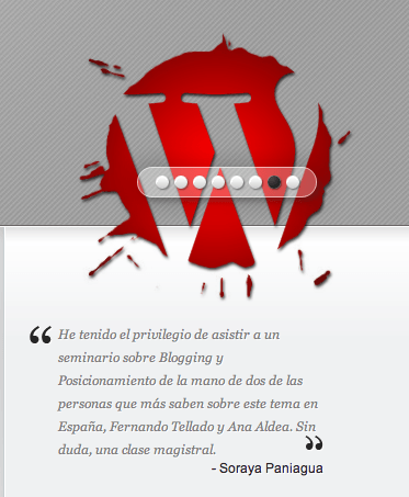 testimonios wordpress