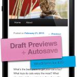 WordPress para iOS 3.5 mola pero la 3.6 molará más