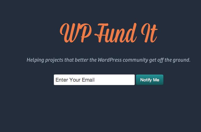 Patrocina proyectos de la comunidad WordPress mediante Crowdfunding