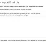 amu lista email